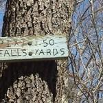 Pixi Falls Sign