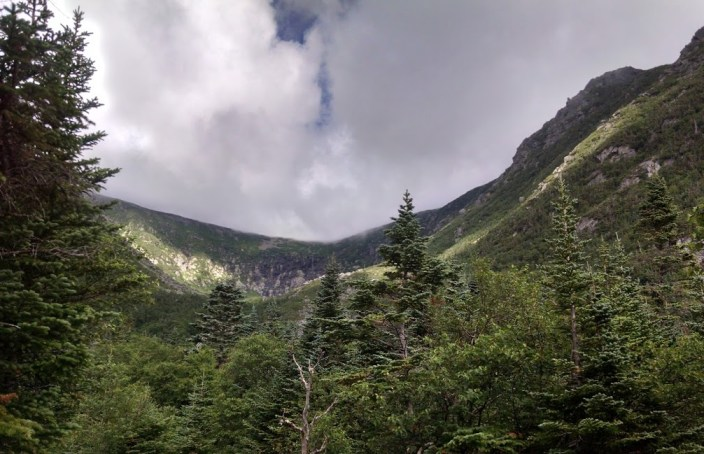 up tuckermans from heremit lake