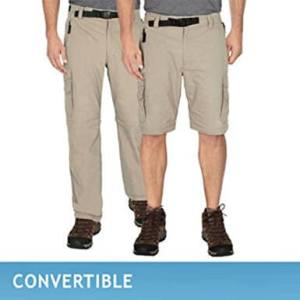 BC Clothing Men's Convertible Cargo Hiking Pants