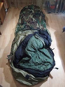 Military-30 Degree Rating Mummy Style Sleeping Bag