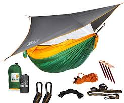 Ryno Tuff Camping Hammock with Mosquito Net And Rain Fly review