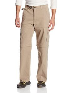 PrAna Men's Stretch Zion Convertible 32-Inch Pant