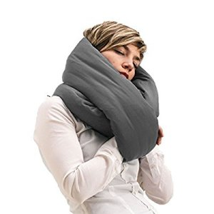 Huzi Infinity Pillow-Design Travel Pillow and Neck Pillow