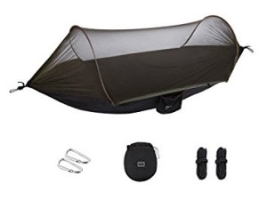 Physport Hammock Tent with Mosquito Portable Parachute Fabric Net
