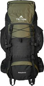 ETON Sports Scout 3400 Internal Frame Backpack - 55 liters review