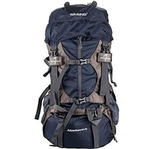 WASING 55L Internal Frame Hiking Backpack - 55L