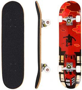 Hikole Complete Skateboard for Kids