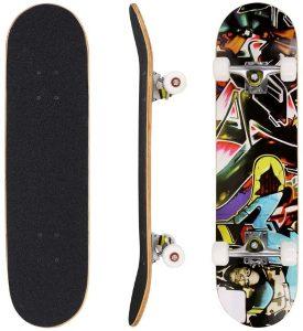Hikole-Skateboard-31-x-8-Complete-PRO-Skateboard