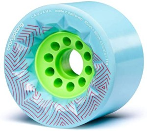 Orangatang Caguama 85 mm Longboard Wheels for Cruising, Off road Electric Skateboard Wheel
