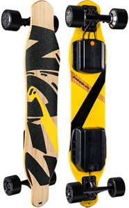 "SWAGSKATE NG2 38"" A.I. Powered Electric Longboard Skateboard"