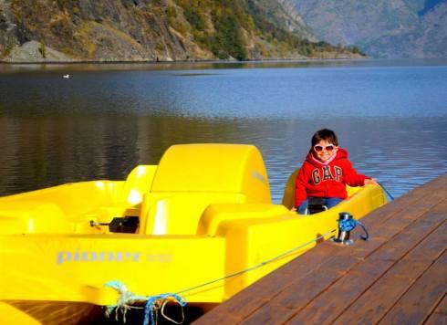 Paddle Boat at Flam