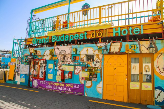 The Colourful Houses of Busan