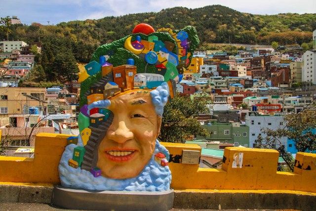 The colourful culture village Busan South Korea