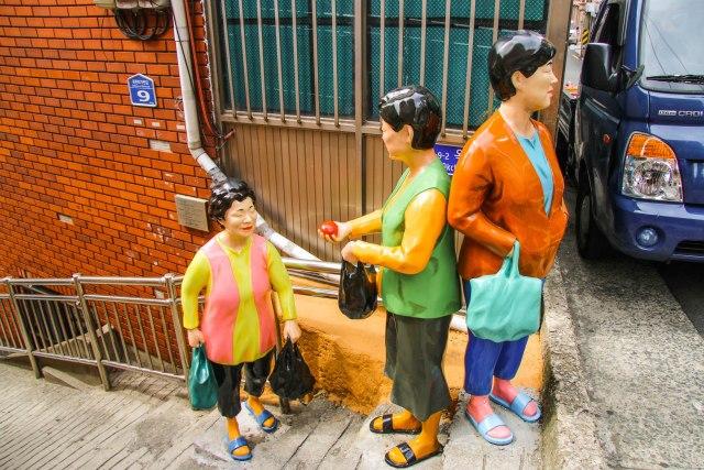 Art in the Gamcheon Cultural Village