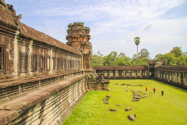 Escape the tourists at Angkor Wat