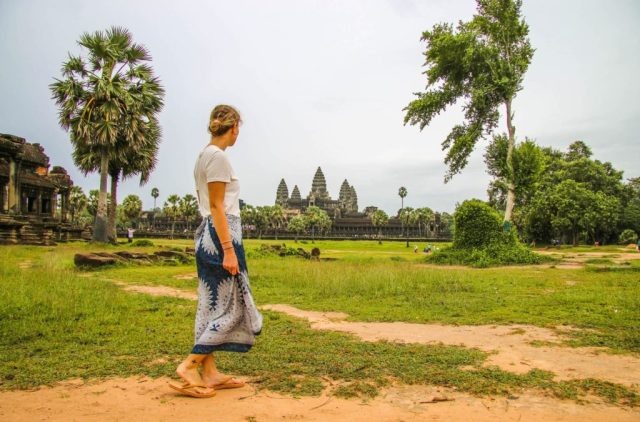 Tips for avoiding crowds at Angkor Wat