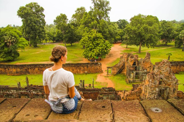 Angkor off the beaten path: Pre Rup temple