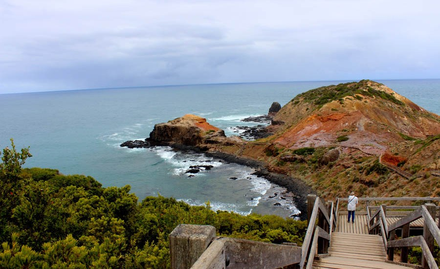 cape schanck backpacking romance