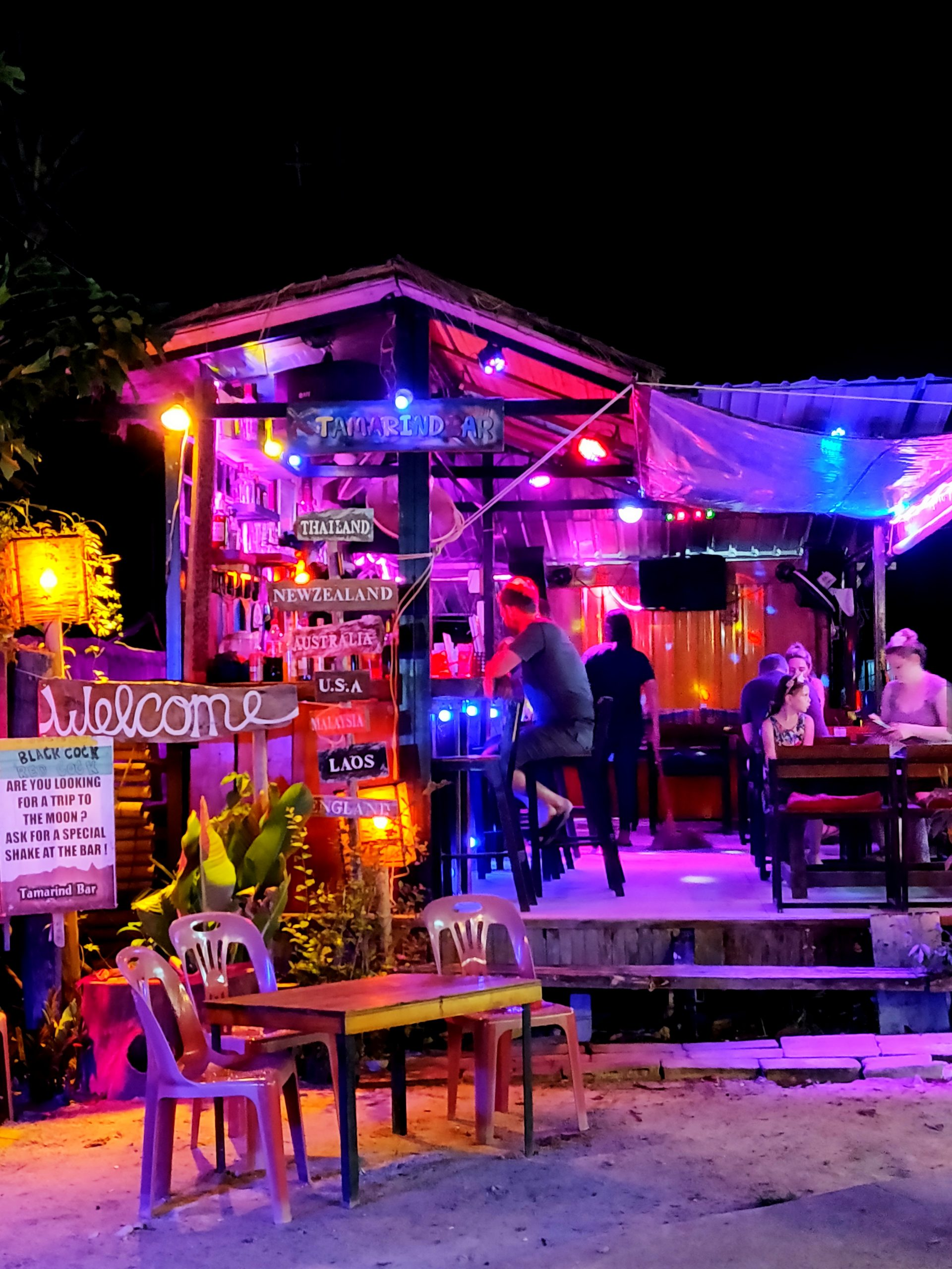 Krabi night market railay