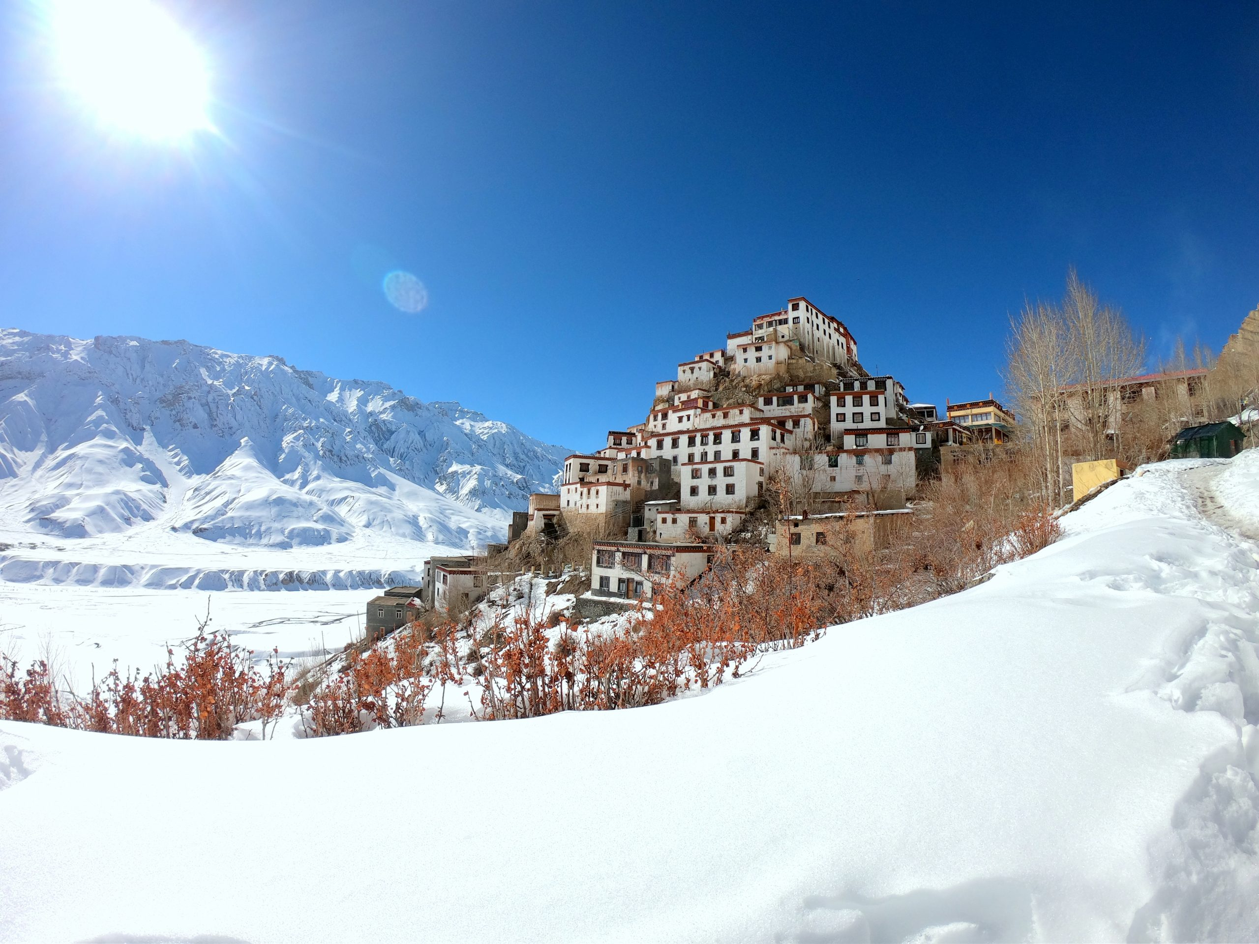 Kaza Winter Spiti