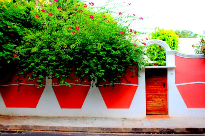 walls of pondicherry