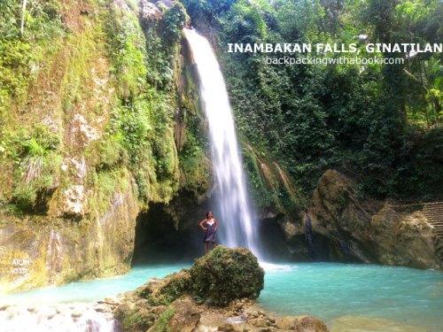 Inambakan Falls, Ginatilan, Cebu