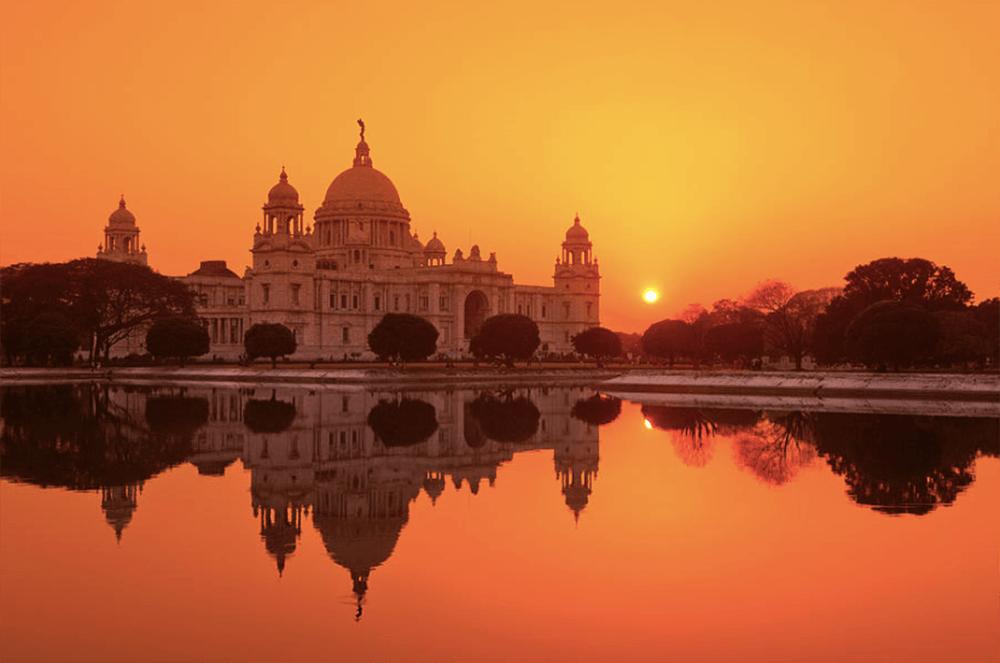 Victoria Memorial, Calcutta, India. Photography by Adrian Pope