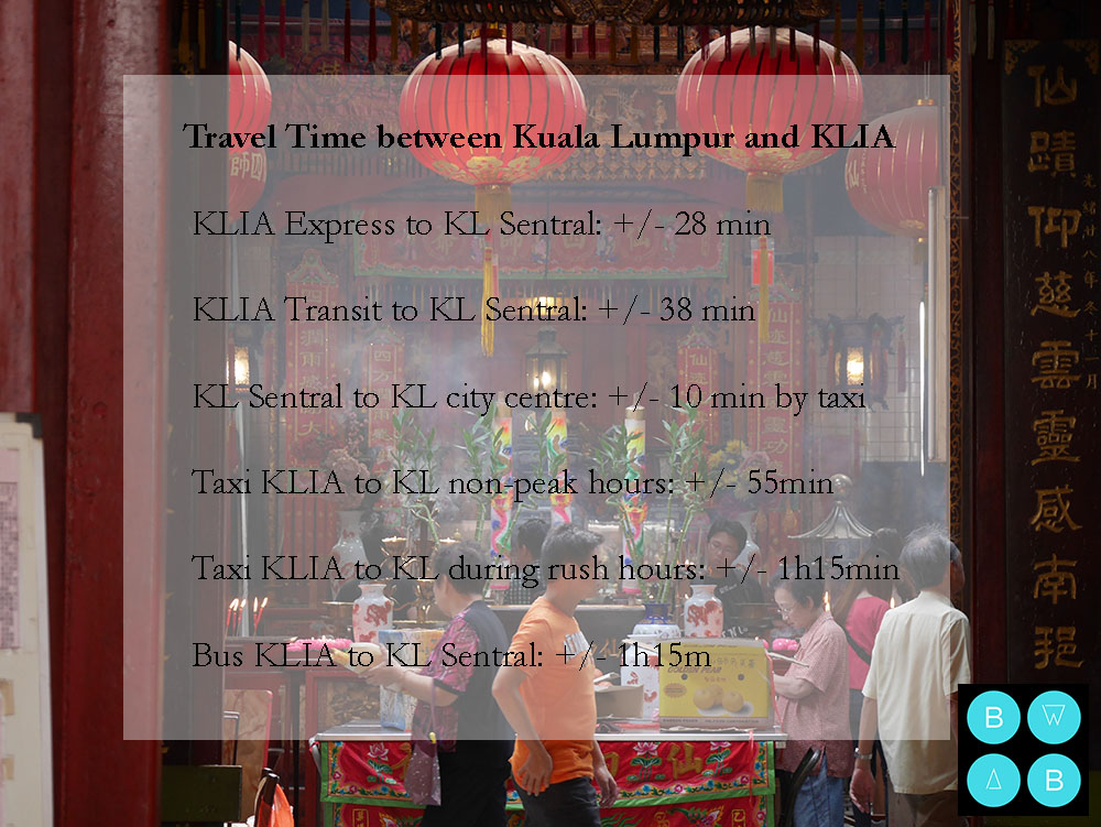 Malaysia Travel Guide Travel time from KLIA to Kuala Lumpur .jpg