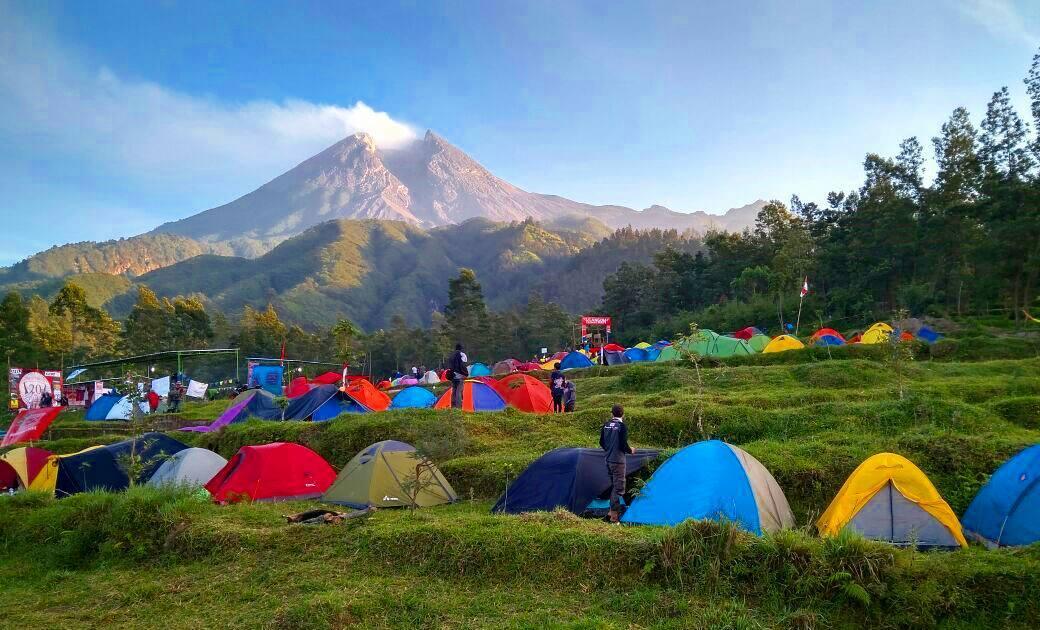 Yogyakarta Travel Guide Bukit Klangon, Merapi