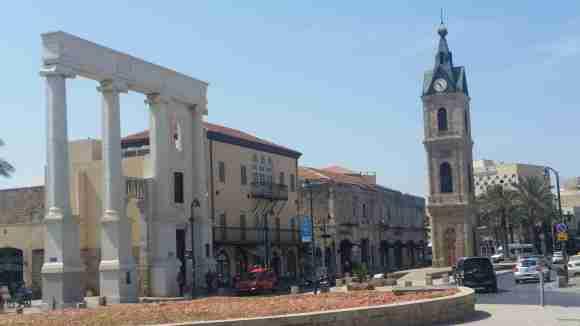 Old Jaffa Clocktower