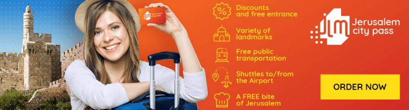 JLM Pass - money saving ticket for Jerusalem