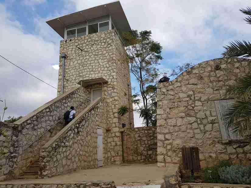 The tower at Birya Fortress