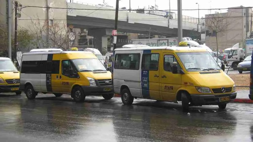 Sherut Taxis in Tel Aviv