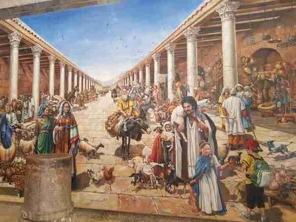 The Cardo in Jerusalem