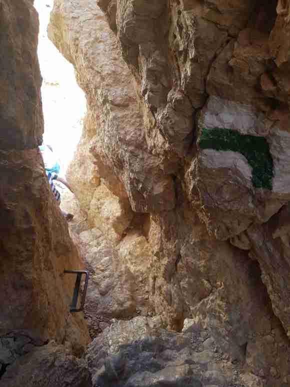 On the En Netafim Trail