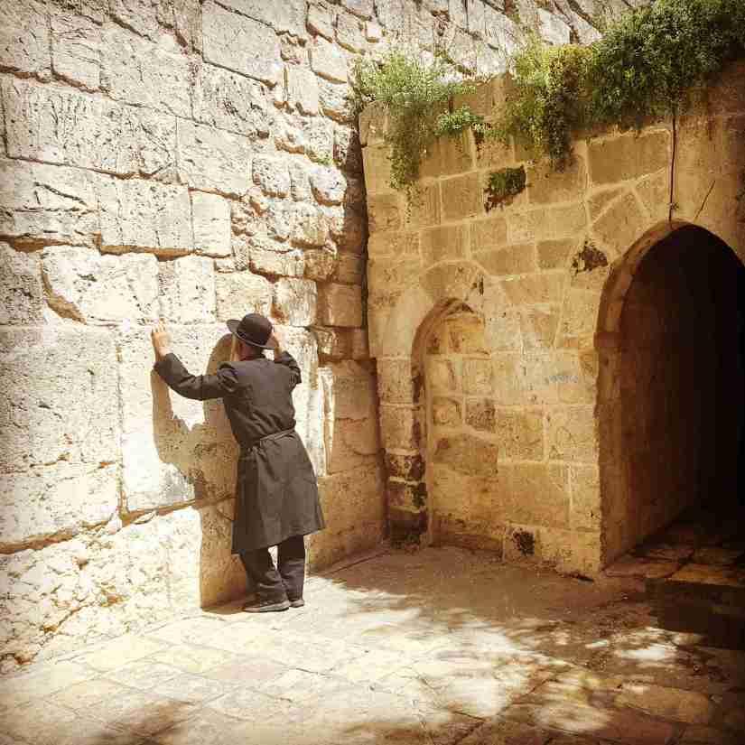 The Little Kotel in the Old City of Jerusalem