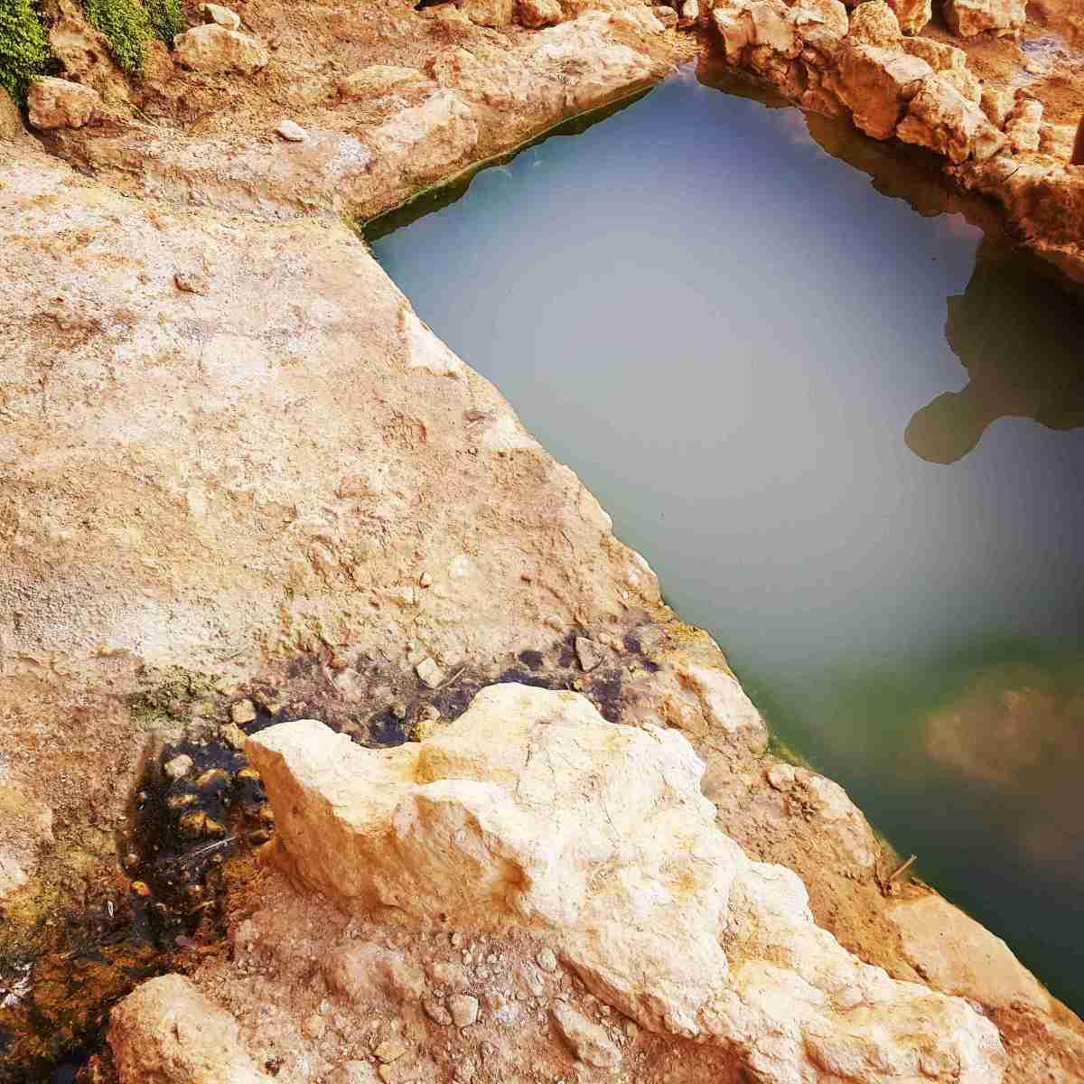 Hiking in the Eilat Mountains to Beautiful En Netafim