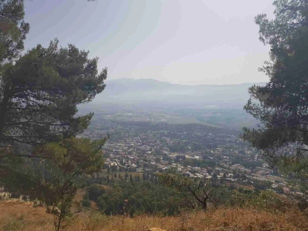 Ramim Cliff Lookout on the Israel National Trail