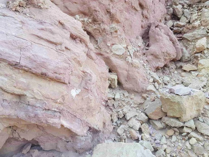 Rocks in the Eilat Mountains