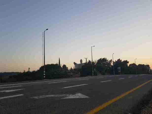 Medzudat Koach on the Israel National Trail