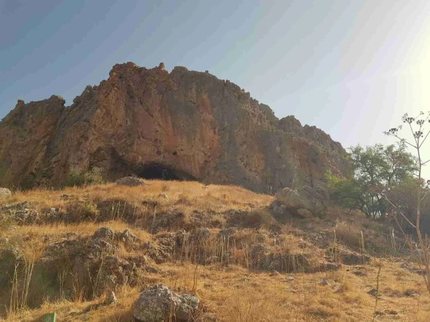 Golgolet Cave on the Israel National Trail in Lower Nahal Amud