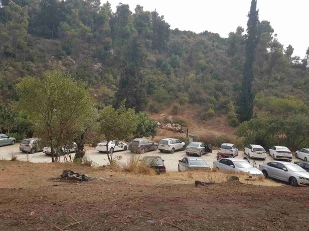 HaPitul Campground on the Israel National Trail