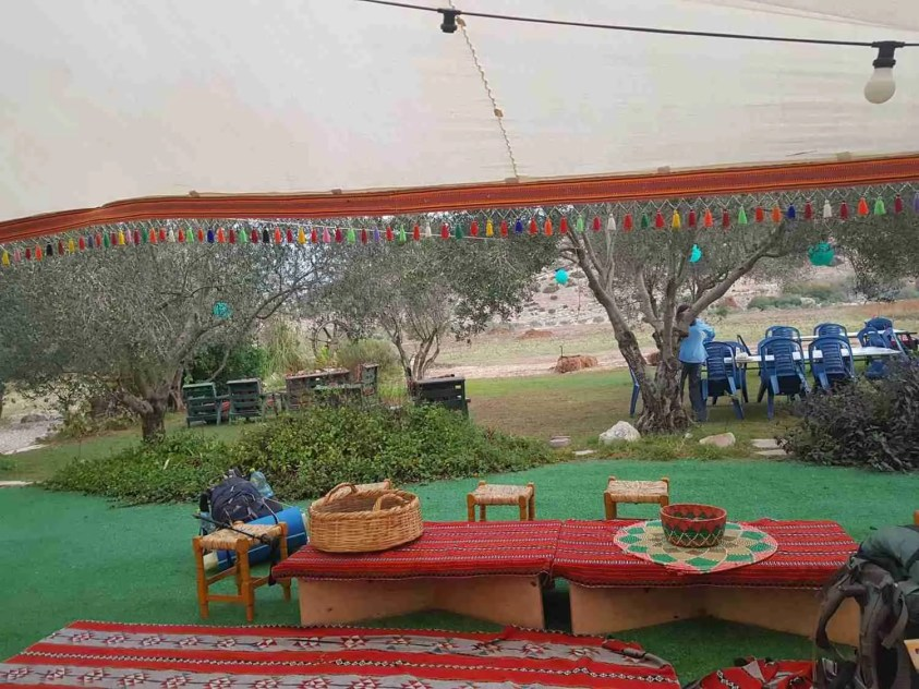 Abu Atef's Agricultural Hospitality in Nahal Zippori