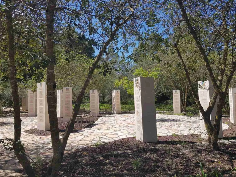 Donors for rehabilitation of the Carmel Forest