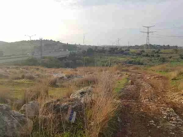 Walking to the underpass beneath road 6 on the Israel National Trail