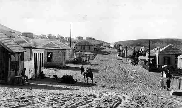 The main street of Bnei Brak in 1928