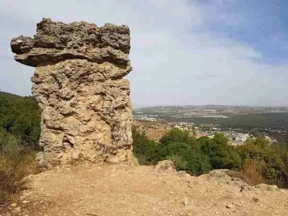 Elijah's Chair on Mount Meron