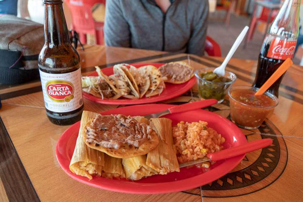 Things to do in Big Bend: Cross the Rio Grande into Mexico and stop for lunch at the Boquillas Restaurant. Try the tamales and a Carta Blanca cerveza!