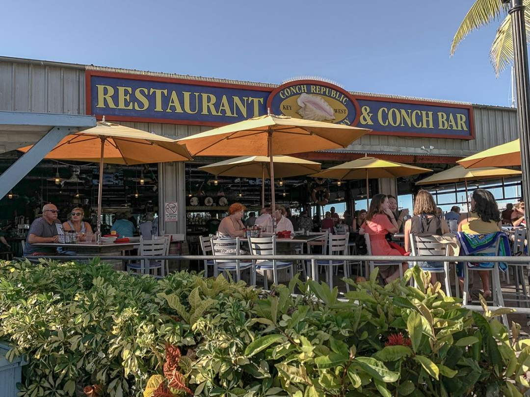 Guide to Key West: eat at the Conch Republic Seafood Company