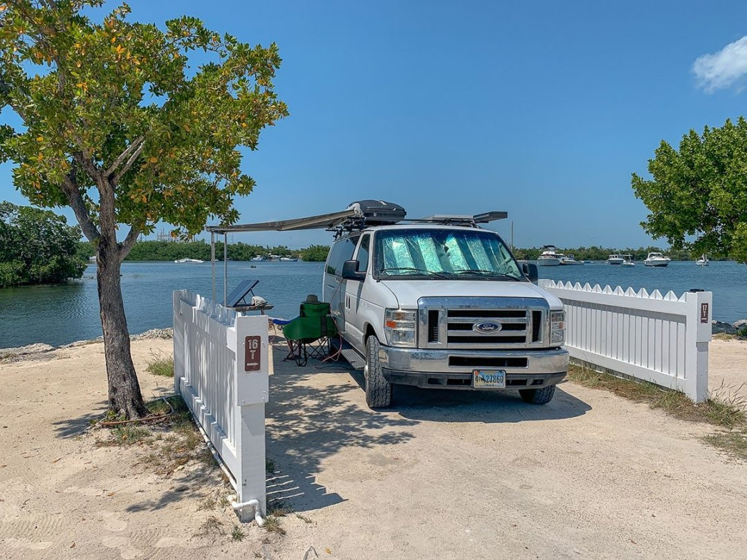 guide to Key West: camp at Boyd's campground